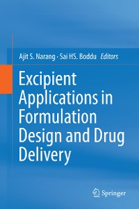 Cover Excipient Applications in Formulation Design and Drug Delivery