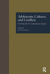 Cover Adolescents, Cultures, and Conflicts
