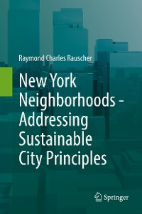 Cover New York Neighborhoods - Addressing Sustainable City Principles