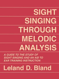 Cover Sight Singing Through Melodic Analysis