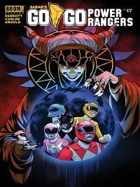 Cover Saban's Go Go Power Rangers, Issue 17