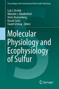 Cover Molecular Physiology and Ecophysiology of Sulfur