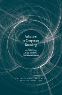 Cover Advances in Corporate Branding