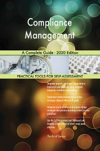 Cover Compliance Management A Complete Guide - 2020 Edition