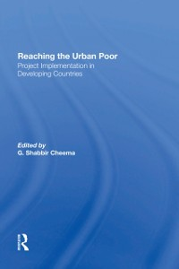 Cover Reaching The Urban Poor