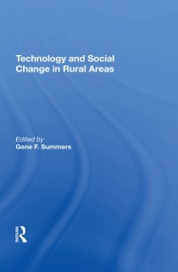 Cover Technology And Social Change In Rural Areas