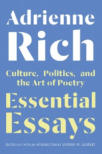Cover Essential Essays: Culture, Politics, and the Art of Poetry