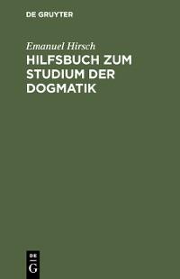 Cover Hilfsbuch zum Studium der Dogmatik