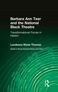 Cover Barbara Ann Teer and the National Black Theatre