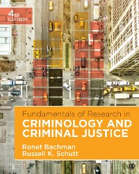 Cover Fundamentals of Research in Criminology and Criminal Justice