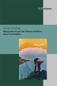 Cover Nietzsches Kunst des Überschreitens