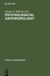 Cover Psychological Anthropology