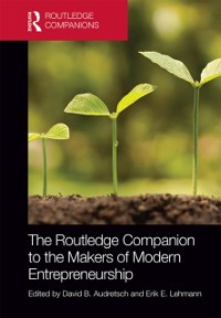 Cover Routledge Companion to the Makers of Modern Entrepreneurship