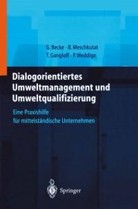 Cover Dialogorientiertes Umweltmanagement und Umweltqualifizierung