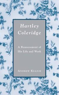Cover Hartley Coleridge
