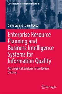 Cover Enterprise Resource Planning and Business Intelligence Systems for Information Quality