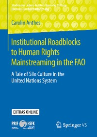 Cover Institutional Roadblocks to Human Rights Mainstreaming in the FAO