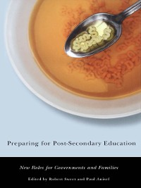 Cover Preparing for Post-Secondary Education