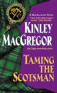 Cover Taming the Scotsman