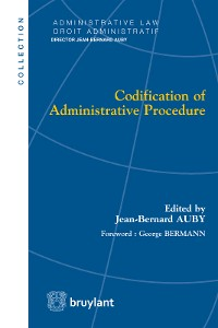 Cover Codification of Administrative Procedure