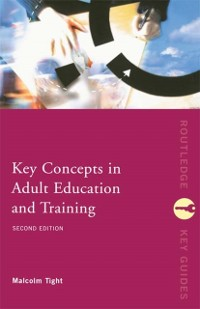 Cover Key Concepts in Adult Education and Training