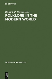 Cover Folklore in the Modern World