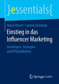 Cover Einstieg in das Influencer Marketing