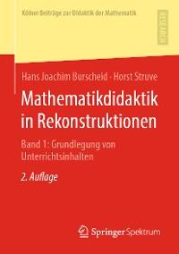 Cover Mathematikdidaktik in Rekonstruktionen