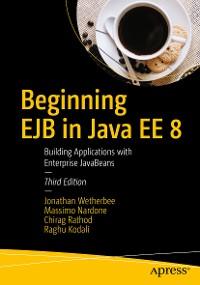 Cover Beginning EJB in Java EE 8
