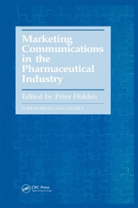 Cover Marketing Communications in the Pharmaceutical Industry