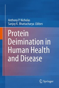 Cover Protein Deimination in Human Health and Disease
