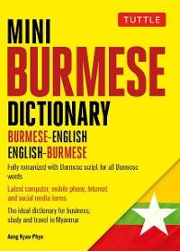Cover Mini Burmese Dictionary