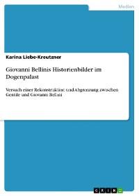 Cover Giovanni Bellinis Historienbilder im Dogenpalast