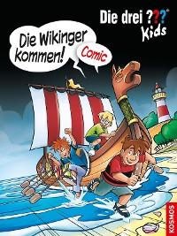 Cover Die drei ??? Kids, Die Wikinger kommen! (drei Fragezeichen Kids)