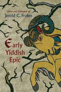 Cover Early Yiddish Epic