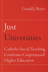 Cover Just Universities