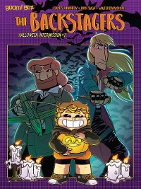 Cover The Backstagers 2018 Halloween Intermission, Issue 1