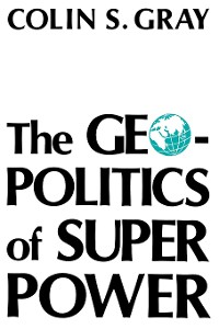 Cover The Geopolitics Of Super Power