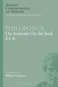 Cover Philoponus: On Aristotle On the Soul 2.1-6