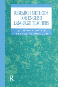 Cover Research Methods for English Language Teachers