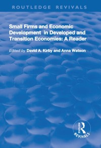 Cover Small Firms and Economic Development in Developed and Transition Economies: A Reader