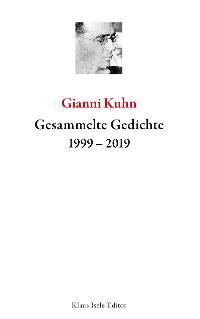 Cover Gesammelte Gedichte 1999-2019