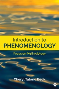 Cover Introduction to Phenomenology