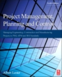 Cover Project Management, Planning and Control