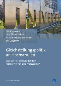 Cover Gleichstellungspolitik an Hochschulen