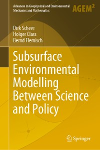 Cover Subsurface Environmental Modelling Between Science and Policy