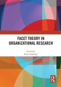 Cover Facet Theory in Organizational Research