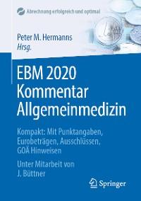 Cover EBM 2020 Kommentar Allgemeinmedizin