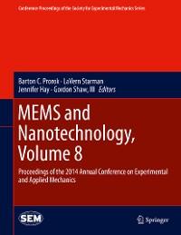 Cover MEMS and Nanotechnology, Volume 8