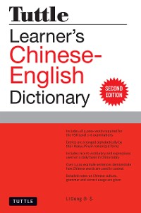 Cover Tuttle Learner's Chinese-English Dictionary